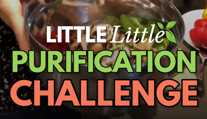 Purification challenge by Healthy Little by Little